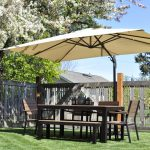 Ikea Patio Umbrella For Patio Furniture Surrounding With Fence