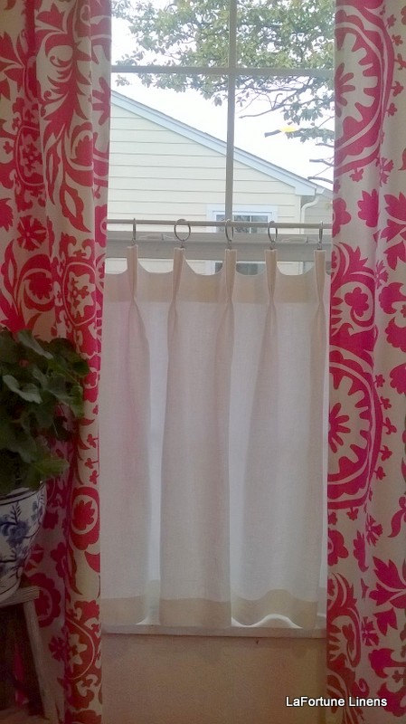 how to make pinch pleat curtains with buckram