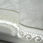 Linen-cafe-curtains-for-bathroom-with-wave-lace-edge-trim-in-natural-white-panel-for-french-cottage-style-with-white valance