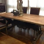 Long Rectangular Table With Leather Chairs Of Dining Room Sets Target