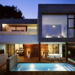 Lovely Modern Home Architecture Styles With Pool