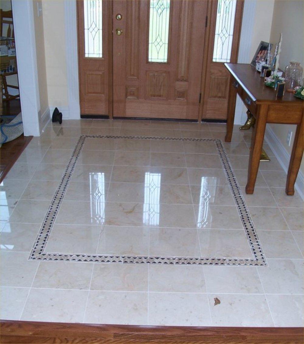 Rectangular Floor Tile Design