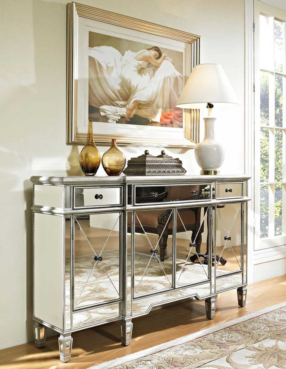 New Mirrored Console Cabinet Review | HomesFeed QF82