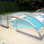 Modern Awesome Swimming Pool With Cover
