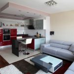 Neopolis Modern Apartment Interior Near Kitchen