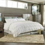 Nice Cal King Headboard With White Bed And Blue Pillows Decorative Rug