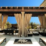 Outdoor Curtain Panels With All Curtains And Furniture