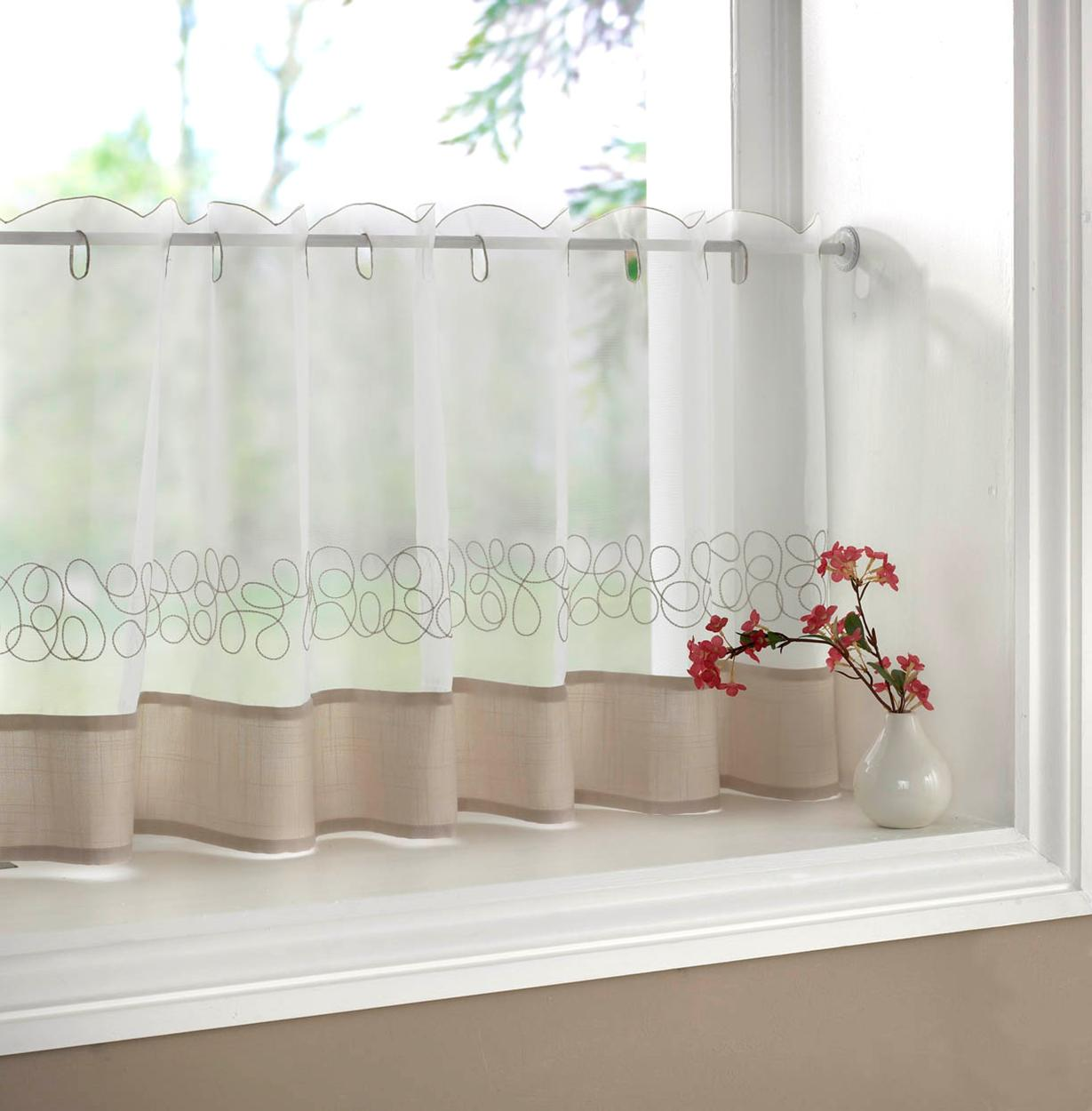 Half Window Curtains Ideas Homesfeed