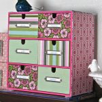 Pretty Pattern Design Of Box Desk Organizer Ikea