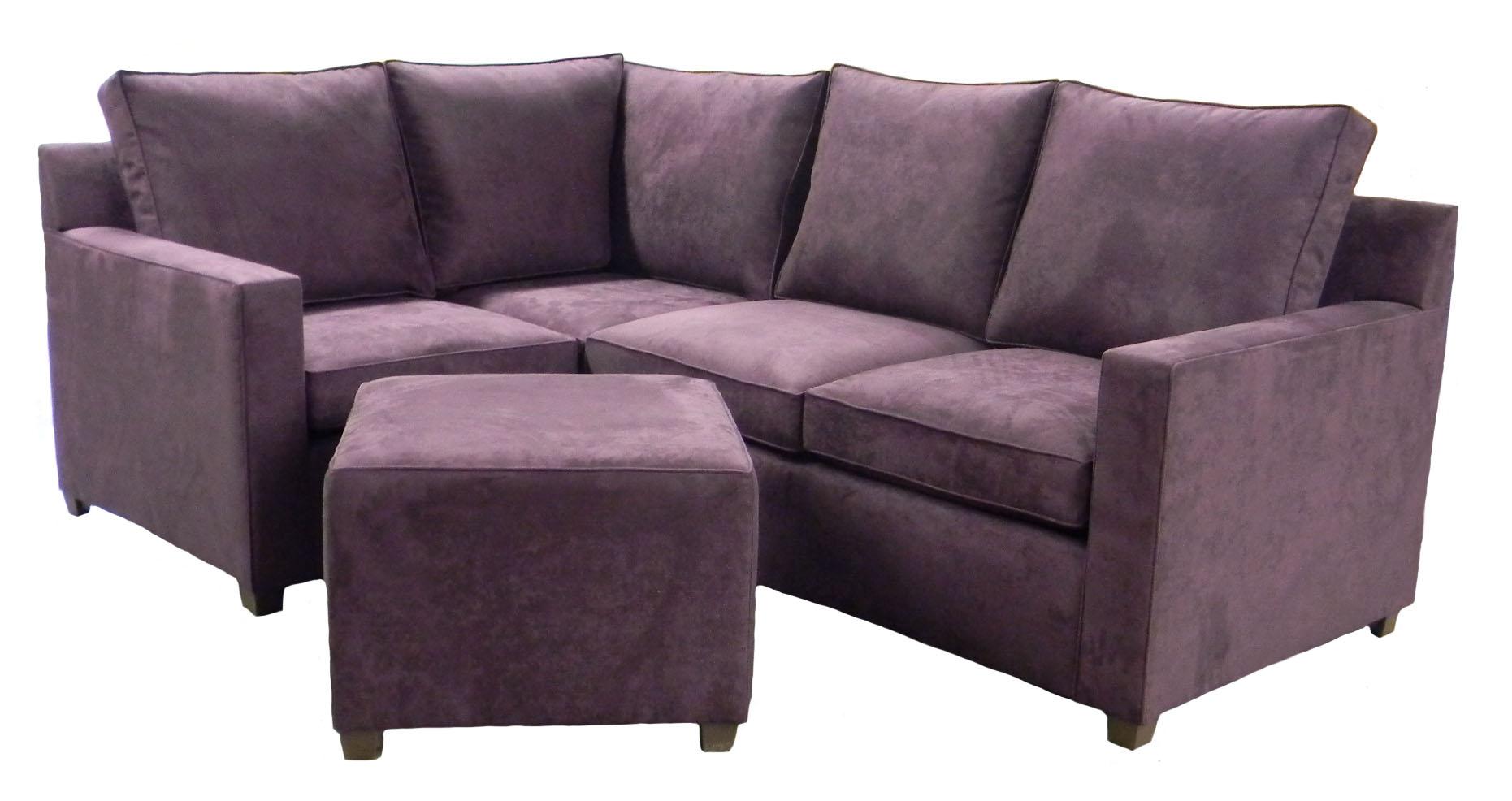 Purple Apartment Size Sleeper Sofa