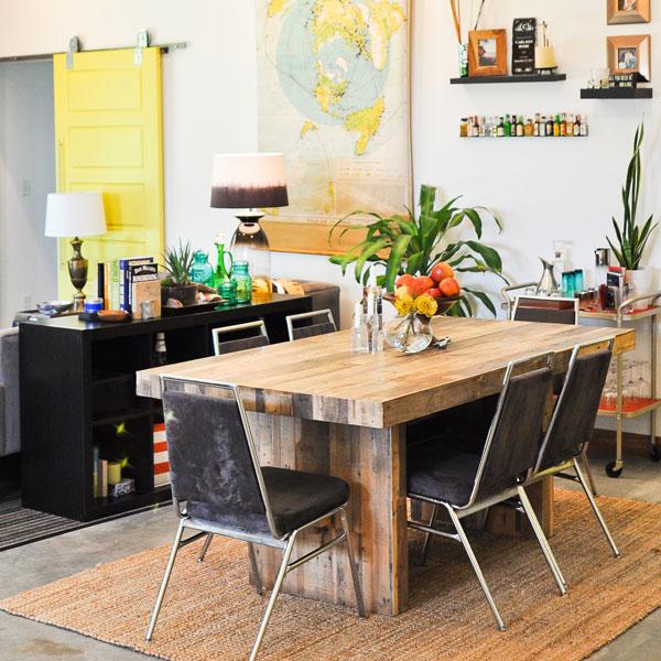 Emmerson Dining Table Rustic Value Maker Homesfeed