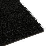 Sholid Shag Rug Black Indoor Outdoor Carpet