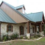 Simple Stone And Wooden Architecture Of Texas Hill Country House Plans