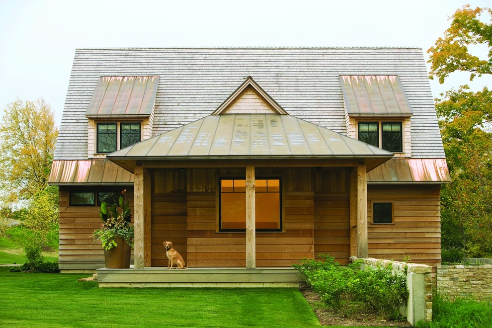 Roof Design Ideas: Wooden House Designs
