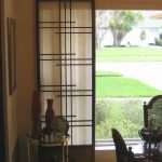 Smaller sliiding shoji screen door