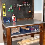 Steel And Wooden Work Kids Table