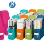 Stylish Colorful Style Plastic Magazine Holders