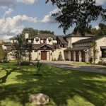 Texas Hill Country House Plans With Modern Style And Fresh Garden