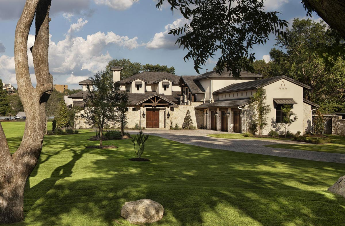 Texas hill country house plans homesfeed for Texas hill country style