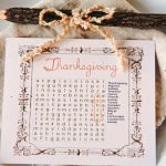 Thanksgiving-Word-Search-Place-Cards-with-unique-wooden-pencil-and-names-on-the-puzzle-placed-on-the-white-plate