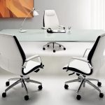 The models of high end and comfy office chairs and desk