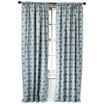 Threshold™-Farrah-Fretwork-Curtain-Panel-with-detailed-design-and-protecting furniture-from-sun-damage-and-available-in-two-lengths-with-dobby-weave-type