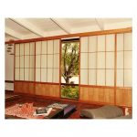 Traditional Sliding Shoji Screen Door Idea