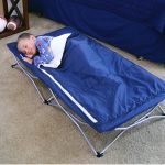 Travel bed idea with legs for kid