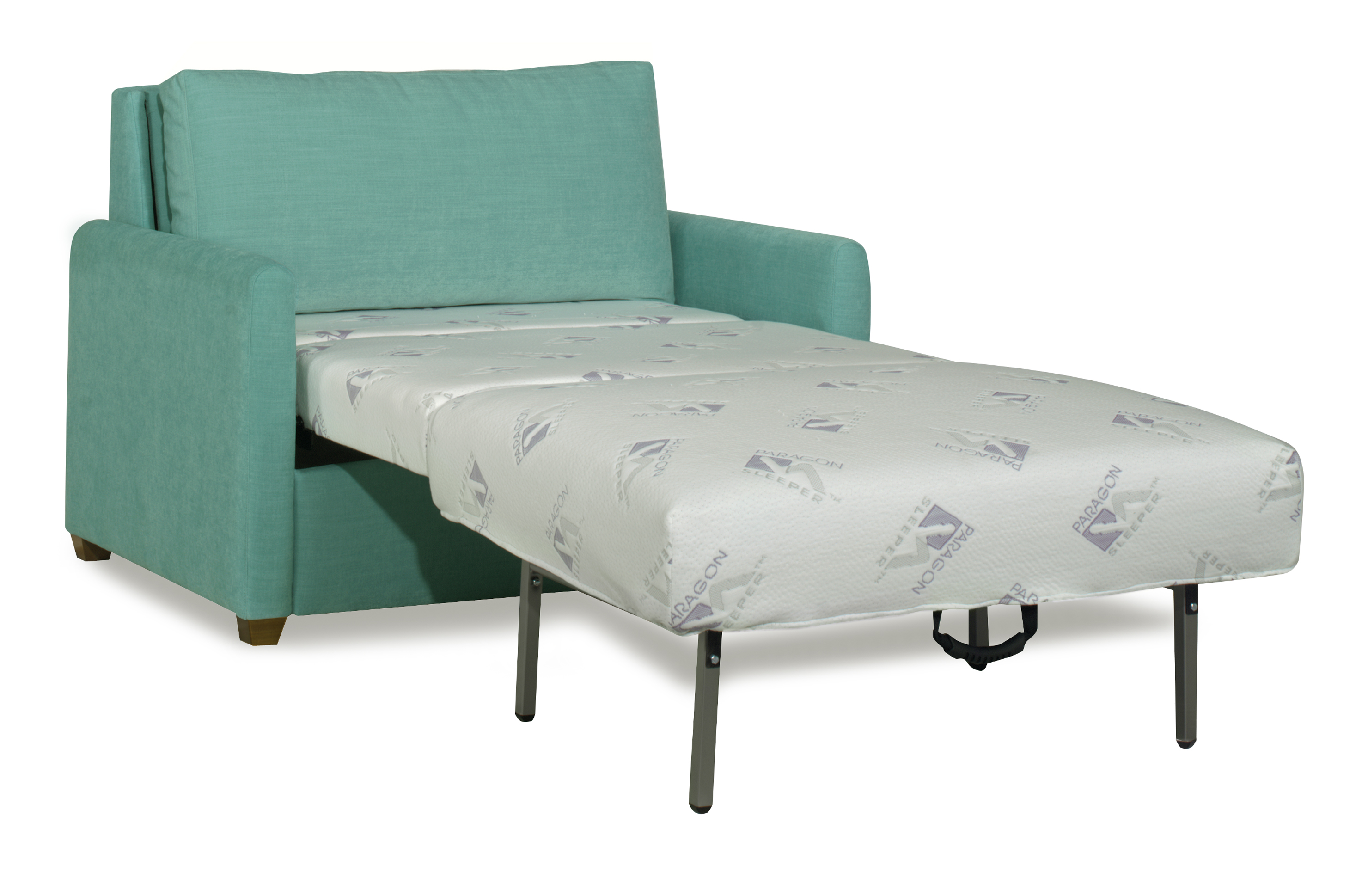Turquoise Twin Sofa Sleeper Chair