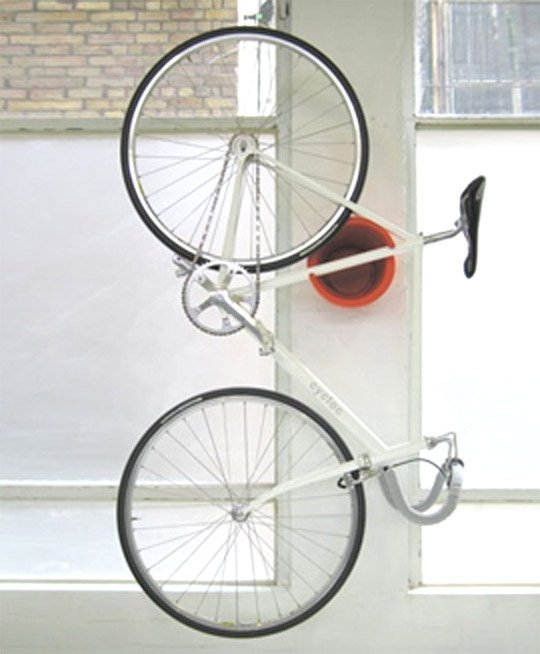 garage ceiling bike storage ideas - Bike Rack for Apartment Perfect Solution to Hang Your