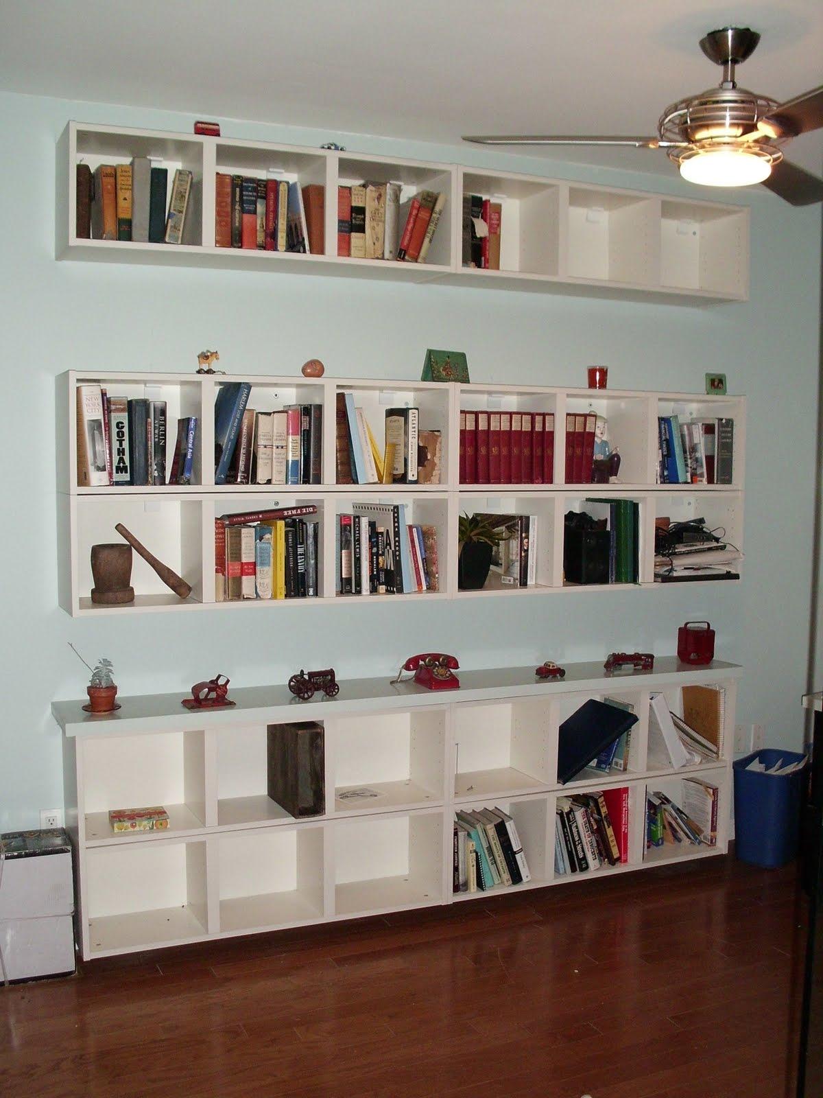 Wall Shelves For Books Design Homesfeed