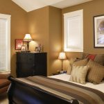 Warm Best Color Wall Paint Of Bedroom With Same Color On Bed And Chair