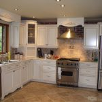 White Kitchen Cabinets Ideas With Awesome Backsplash Tile
