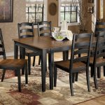 Wooden Dining Room Sets Target With Six Chairs And Awesome Rug