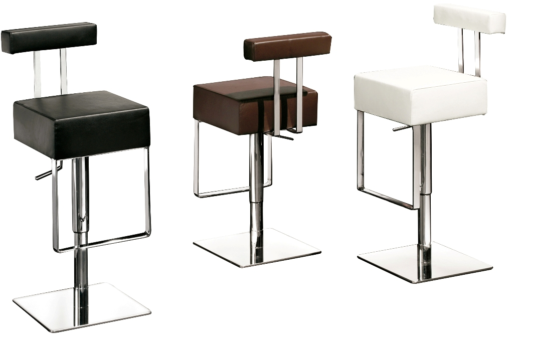 funky bar stools for stunning and amusing kitchen bar