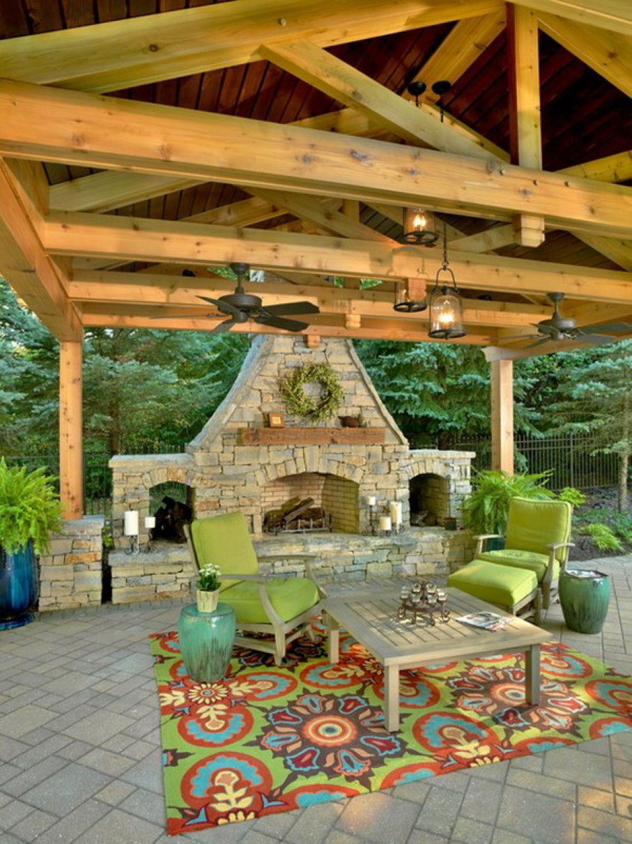 Some Outdoor Patio Design for Daily Outing - HomesFeed on Outdoor Living Patio Ideas id=56881