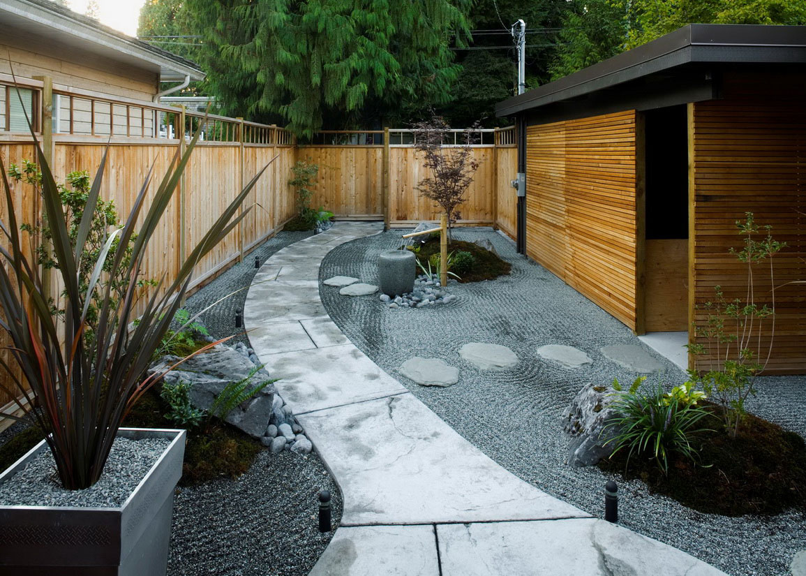 Small Japanese Garden for Green and Refreshing Exhibition ... on Small Backyard Japanese Garden id=24025