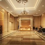 best foyer design ida of office building or hotel with golden luxurious tile flooring with chairs with gorgeous ceiling idea with great chandelier