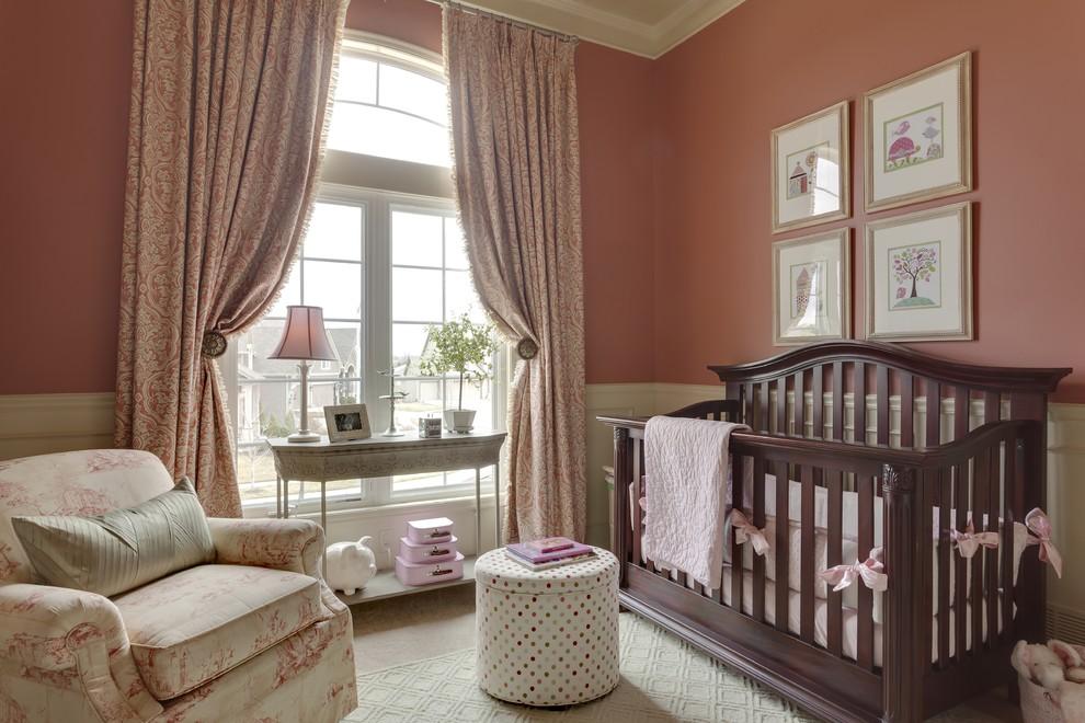 Curtains For Baby Girl Nursery: Striking Blackout Curtains For The Nursery