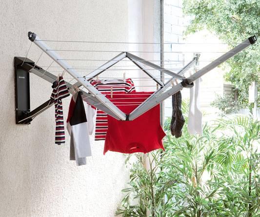 Useful Wall Mounted Drying Rack | HomesFeed