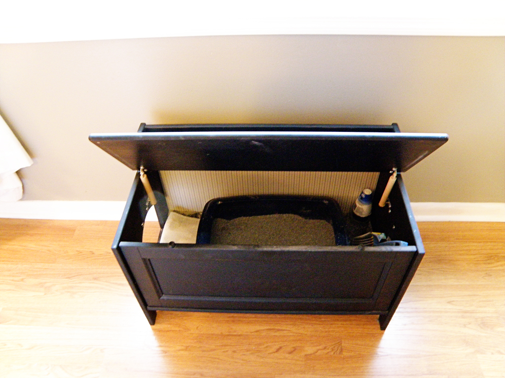 An Easy Diy Cat Litter Box Ideas Homesfeed