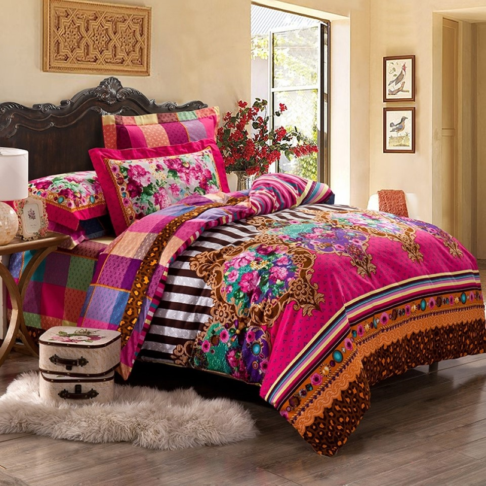 Indian Inspired Bedding