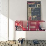 creative-and-decorative-Red-Music-letters-design-for-shelves-and-floating-decorative-letters-with-red-transparent-color-of-acrylic-material