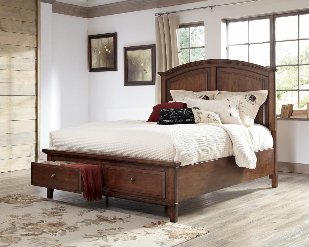 Cherry Wood Headboard Best Furniture For Vintage Lover Homesfeed