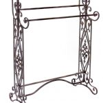 free standing towel racks made of iron with wonderful decorative furniture