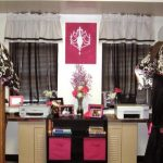 gorgeous college dorm room ida with pink accent and white brown cow patterned sheet and black curtain and white siding
