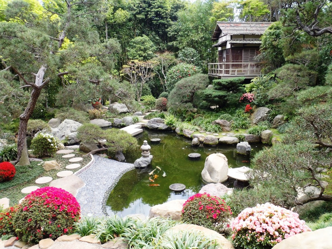 Small Japanese Garden for Green and Refreshing Exhibition ... on Small Backyard Japanese Garden id=77465