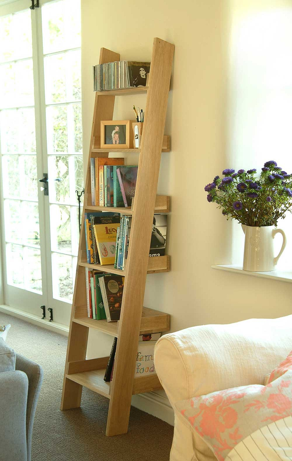 Plant Bookshelf Bedroom