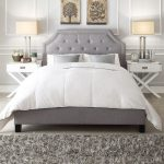 Grey And White Bedroom Ideas With Oxford Creek Furniture And Divan Bed Plus Furry Rug And White Unique Table Set And Wooden Floor