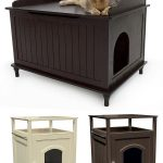 Inspiring Cat Litter Box Ideas Made Of Wooden With Various Designs And Scheme